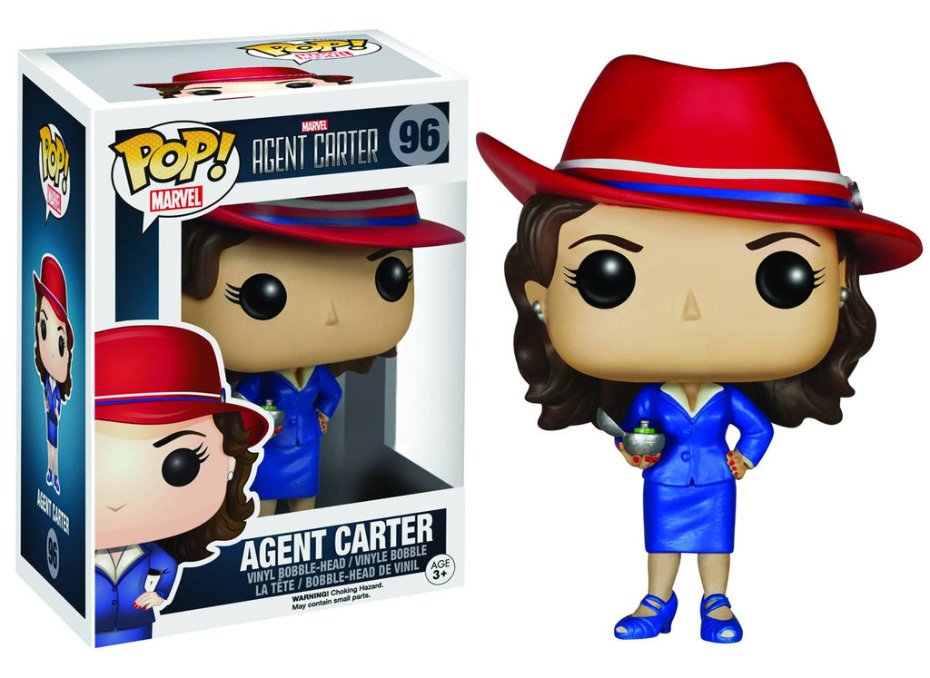 POP MARVEL AGENT CARTER VINYL FIG