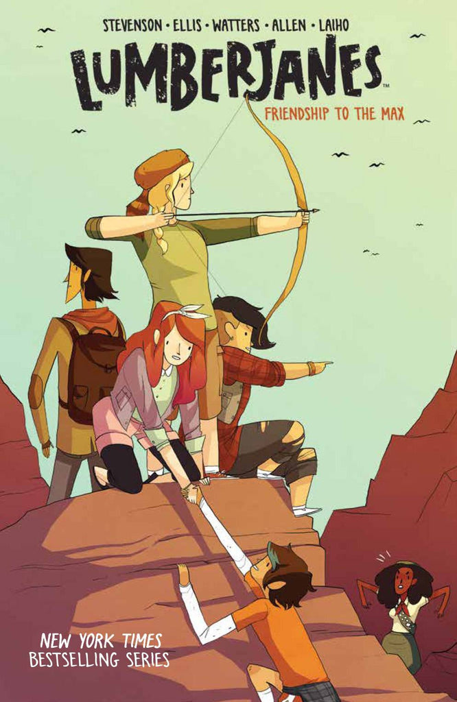 LUMBERJANES TP VOL 02 COVER