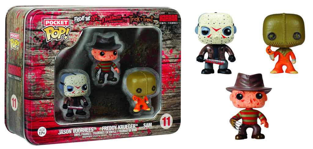 POCKET POP HORROR 3PC TIN GIFT SET