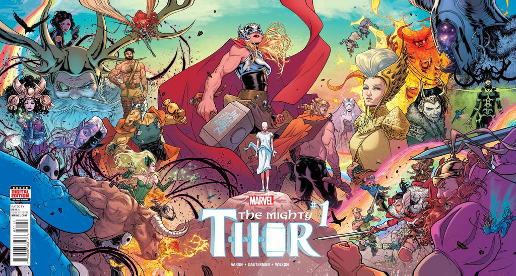 MIGHTY THOR #1 COVER
