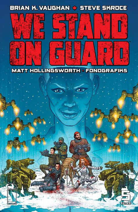 WE STAND ON GUARD #5 (MR) COVER