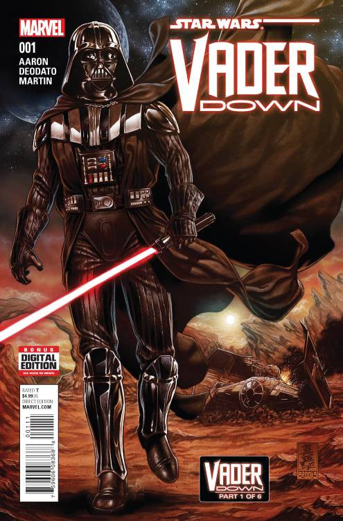 STAR WARS VADER DOWN #1 VDWN COVER