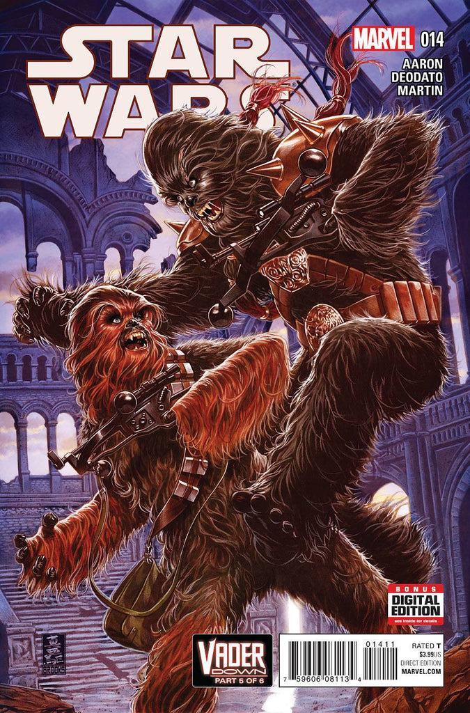 STAR WARS #14 VDWN COVER