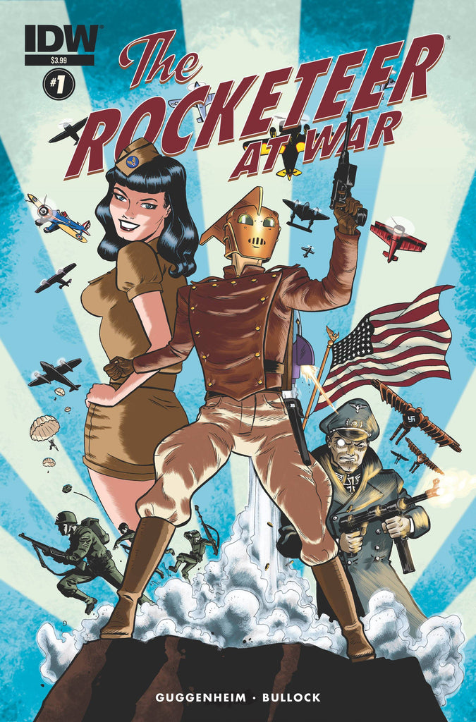 ROCKETEER AT WAR #1 (OF 4) COVER