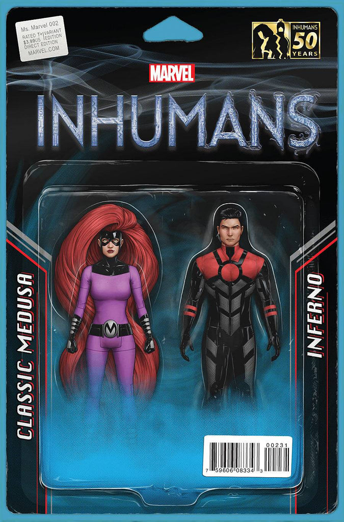 MS MARVEL #2 CHRISTOPHER ACTION FIGURE TWO PACK VAR COVER