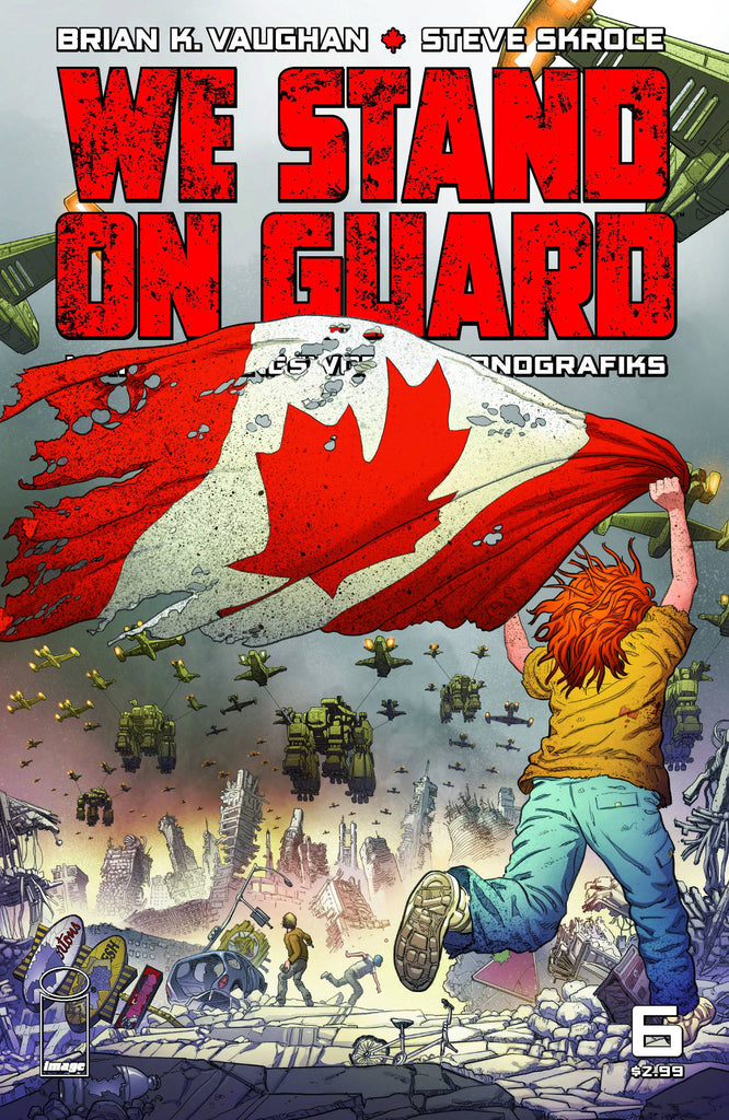 WE STAND ON GUARD #6 (OF 6) (O/A) (MR) COVER