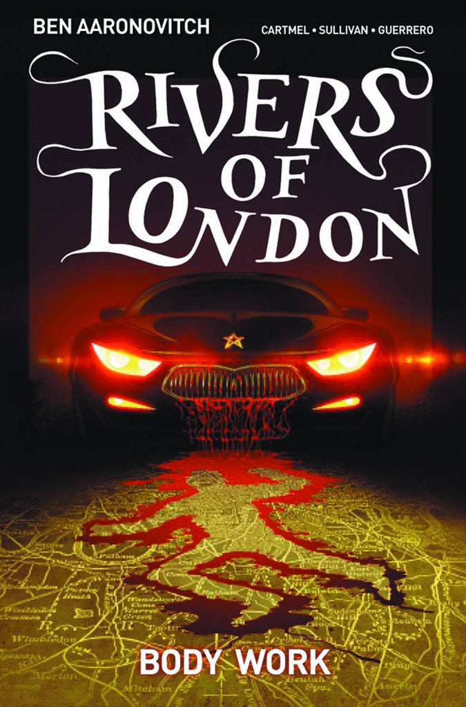 RIVERS OF LONDON TP VOL 01 BODY WORK COVER