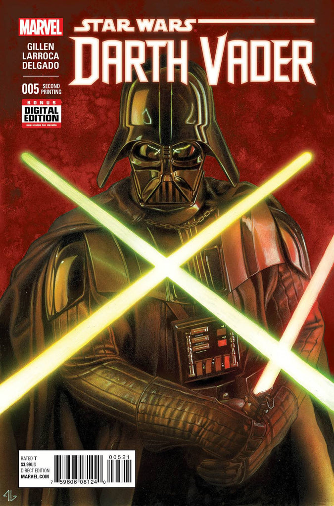 DARTH VADER #5 GRANOV 2ND PTGVAR COVER