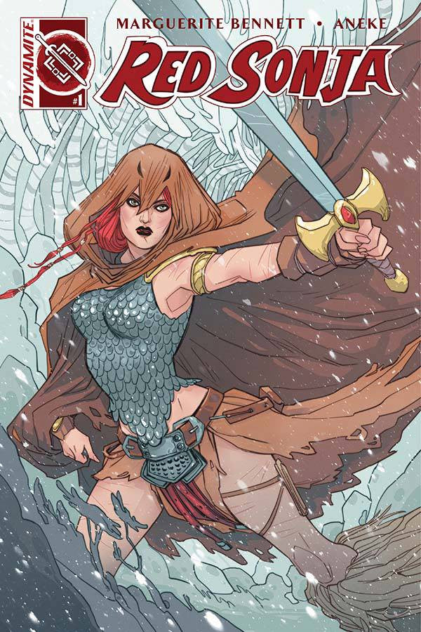 RED SONJA VOL 3 #1 CVR A SAUVAGE COVER