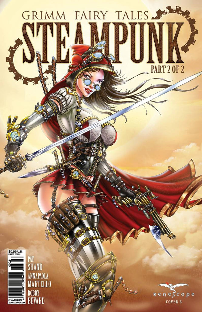 GFT STEAMPUNK #2 (OF 2) B CVRTYNDALL (MR) COVER
