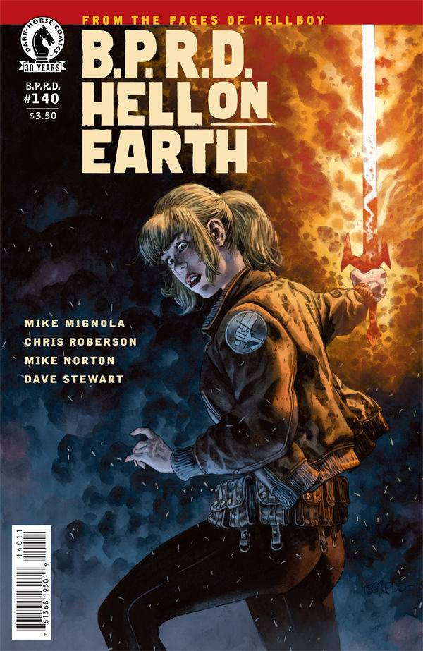 BPRD HELL ON EARTH #140 MAIN COVER COVER