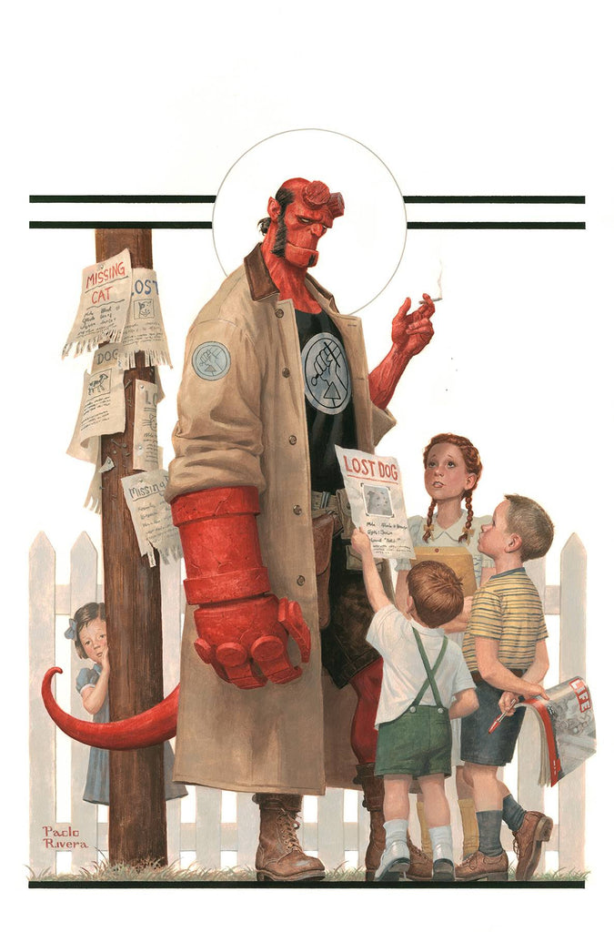 HELLBOY & BPRD 1953 BEYOND THE FENCES #1 MAIN CVR