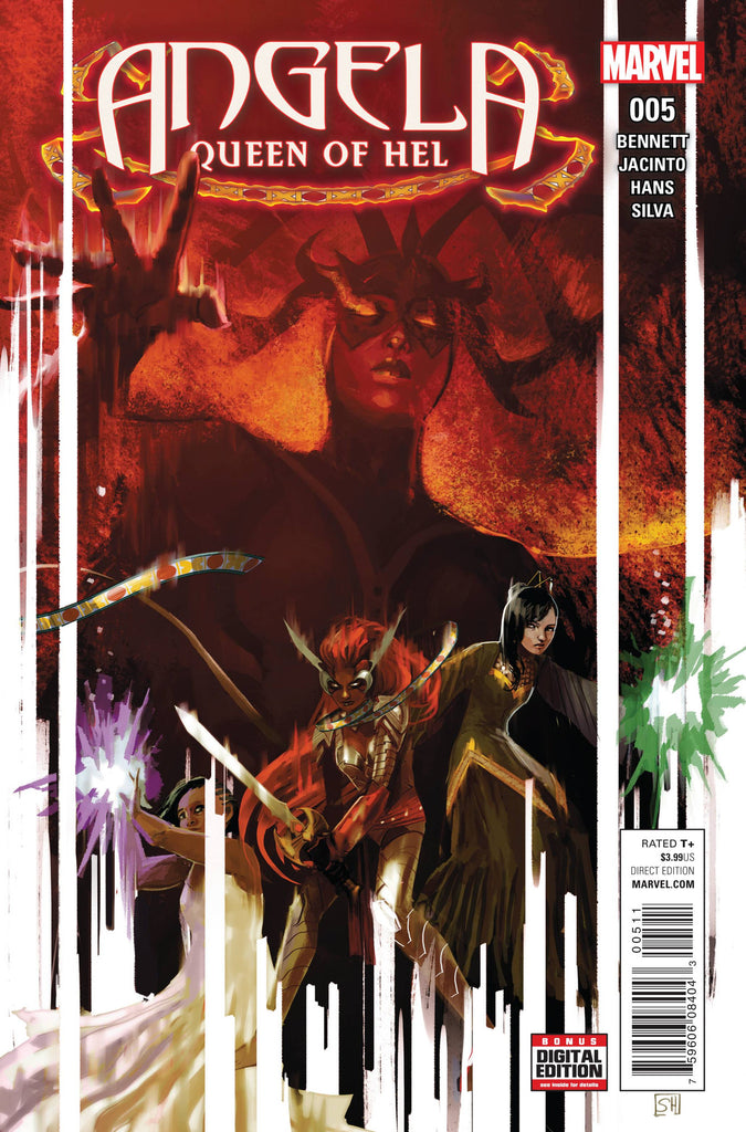 ANGELA QUEEN OF HEL #5 COVER