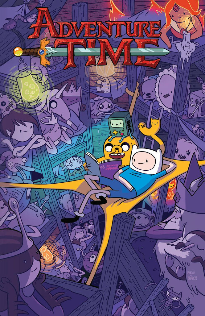 ADVENTURE TIME TP VOL 08 COVER