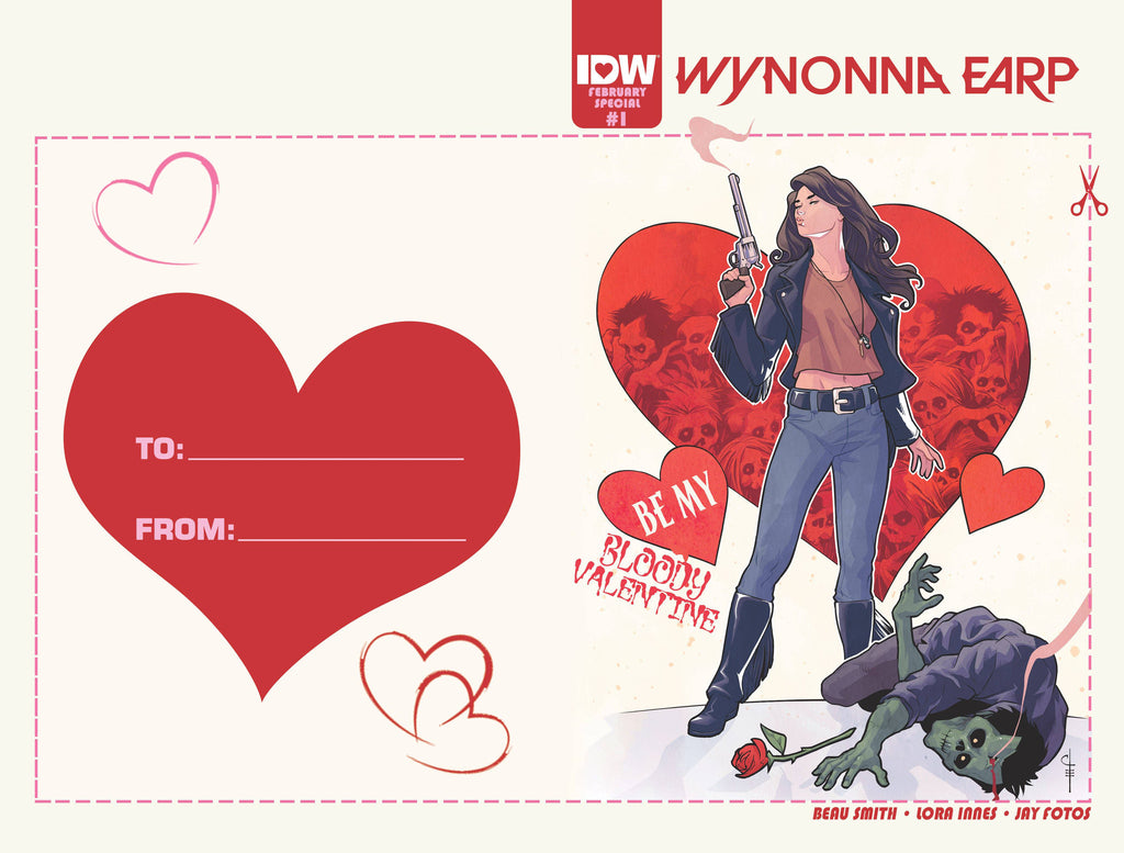 WYNONNA EARP #1 (OF 6) VALENTINES DAY CARD VAR COVER