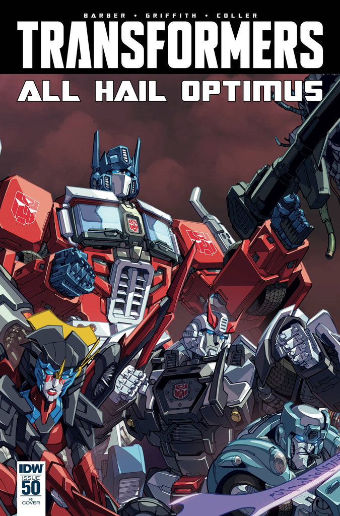 TRANSFORMERS #50 SUBSCRIPTION VARIANT COVER
