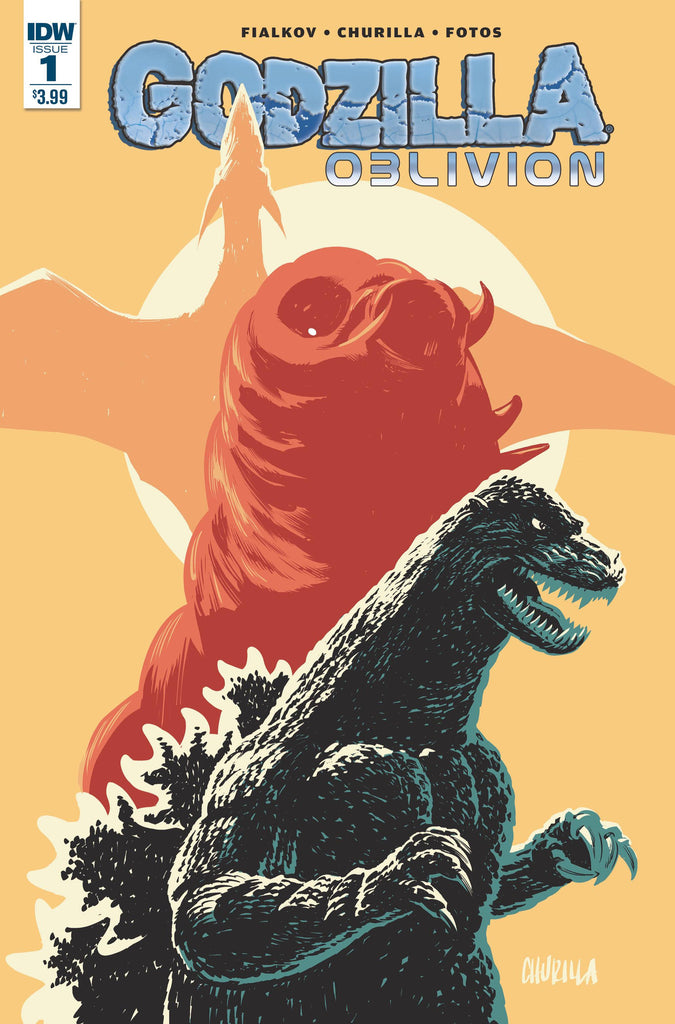 GODZILLA OBLIVION #1 (OF 5) COVER