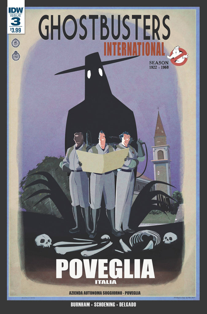 GHOSTBUSTERS INTERNATIONAL #3(OF 4) COVER