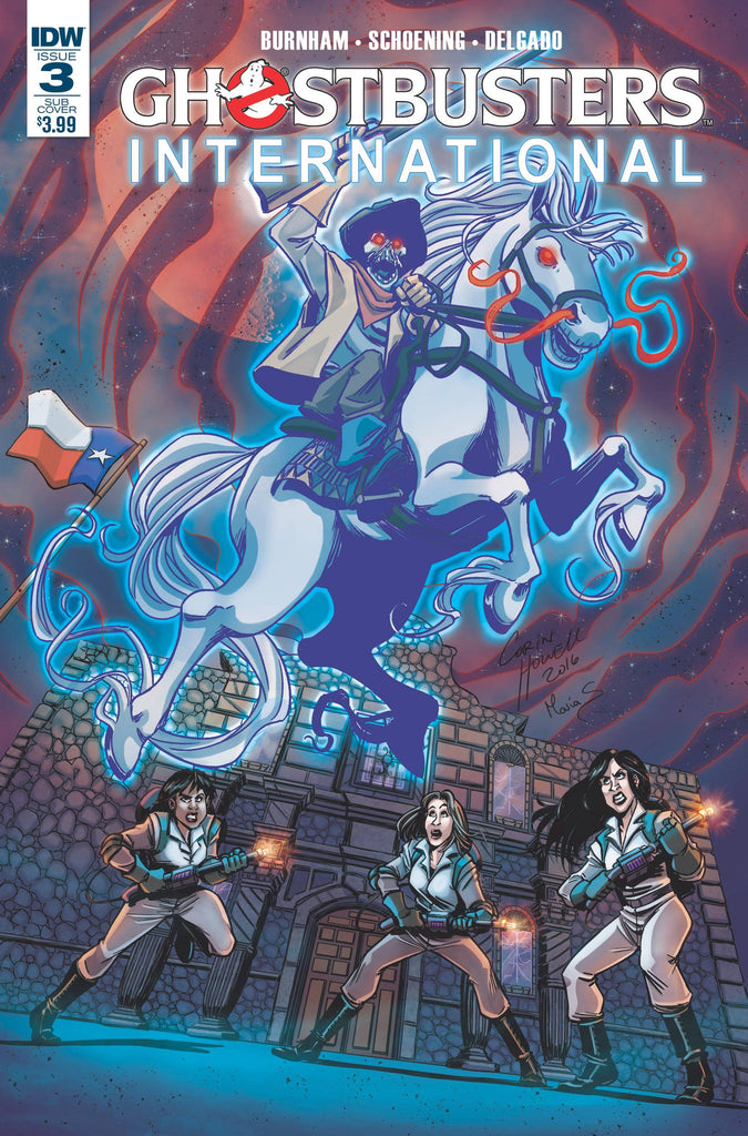 GHOSTBUSTERS INTERNATIONAL #3(OF 4) SUBSCRIPTION VAR COVER
