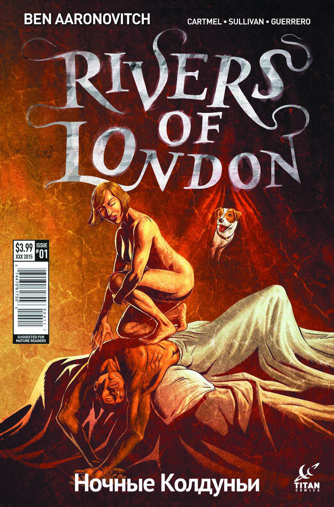 RIVERS OF LONDON NIGHT WITCH #1 (OF 5) CVR C SULLIVAN (MR) COVER