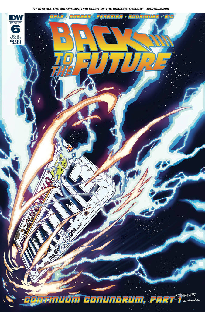 BACK TO THE FUTURE #6 SUBSCRIPTION VAR COVER