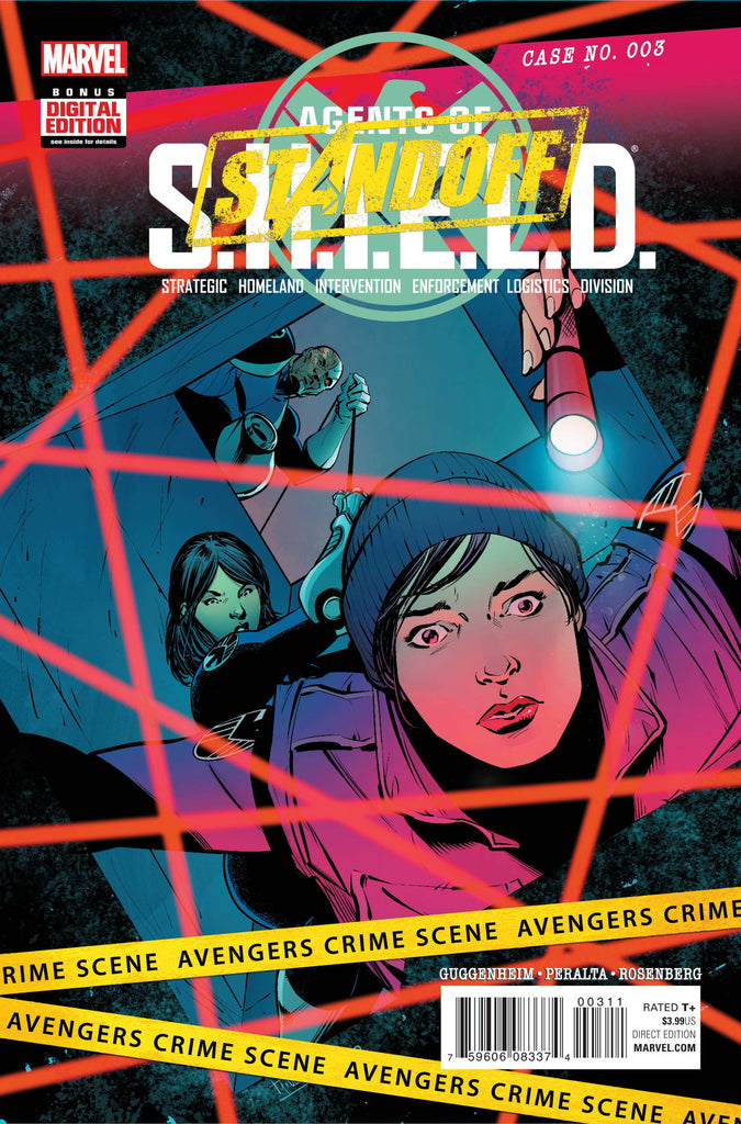 AGENTS OF SHIELD #3 ASO COVER