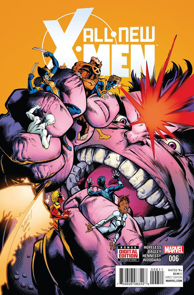 ALL NEW X-MEN #6 COVER