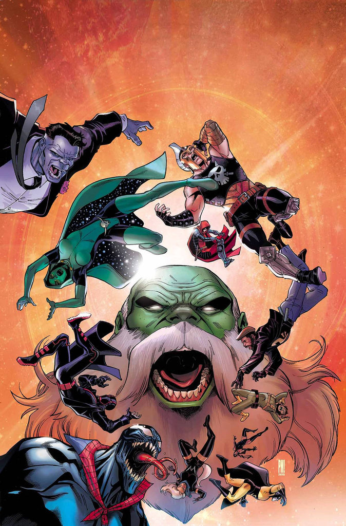 CONTEST OF CHAMPIONS #6 COVER