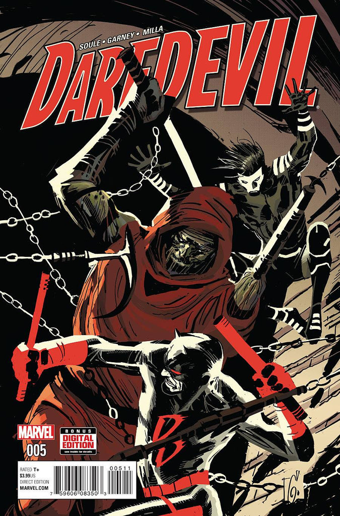 DAREDEVIL #5 COVER