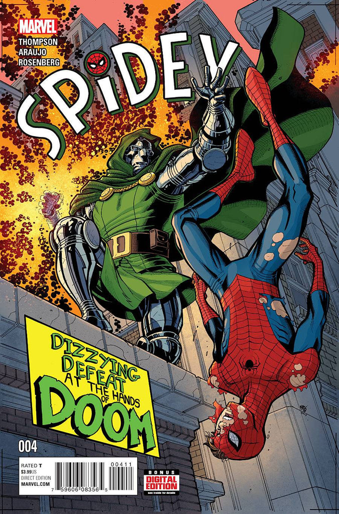SPIDEY #4 COVER
