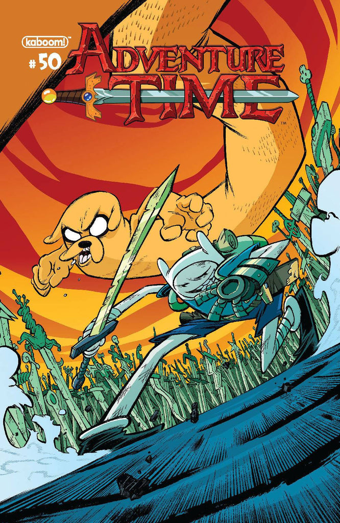 ADVENTURE TIME #50 SUBSCRIPTION CORONA VARIANT (C: 1-0-0) COVER