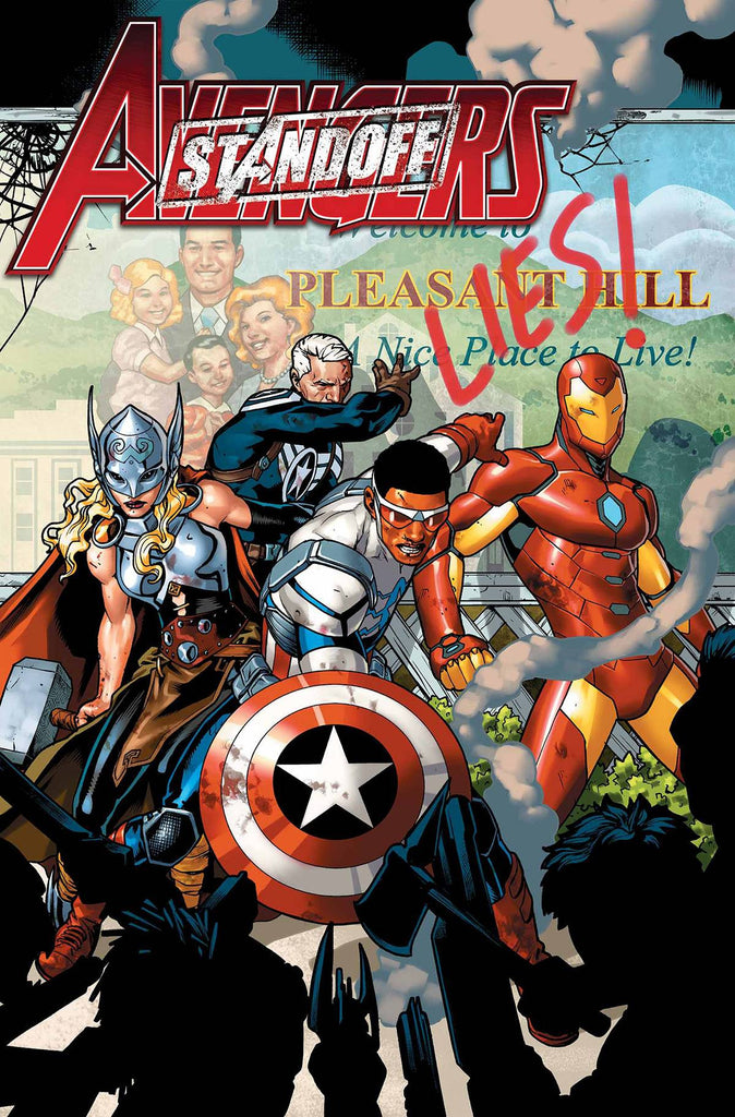 AVENGERS STANDOFF ASSAULT ON PLEASANT HILL ALPHA #1 PREMIUM VARIANT ASO