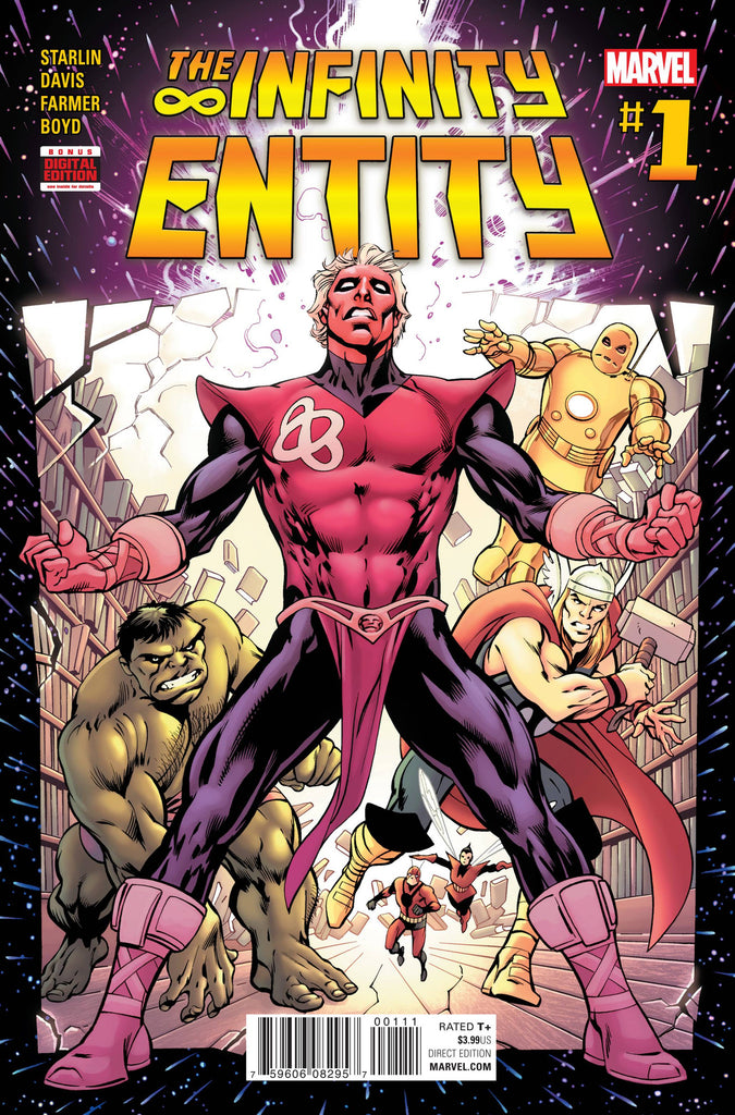 INFINITY ENTITY #1 (OF 4) COVER