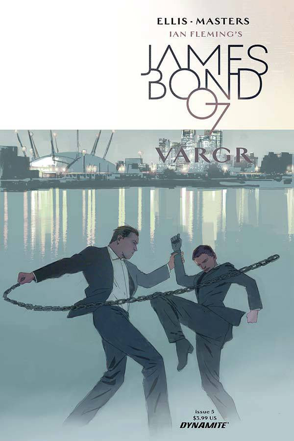 JAMES BOND #5 COVER