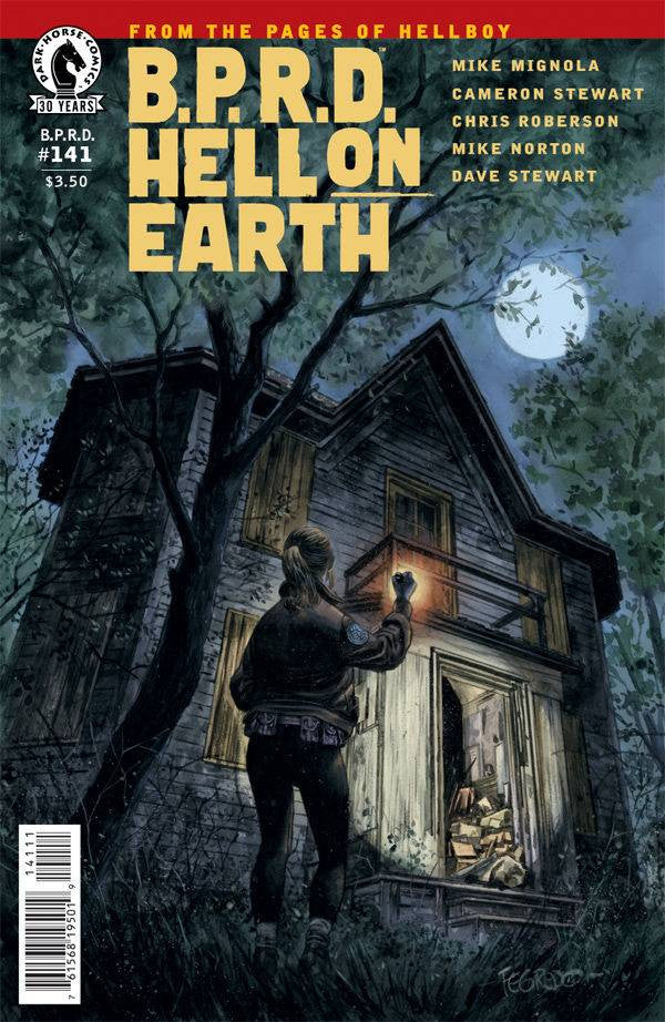 BPRD HELL ON EARTH #141 COVER