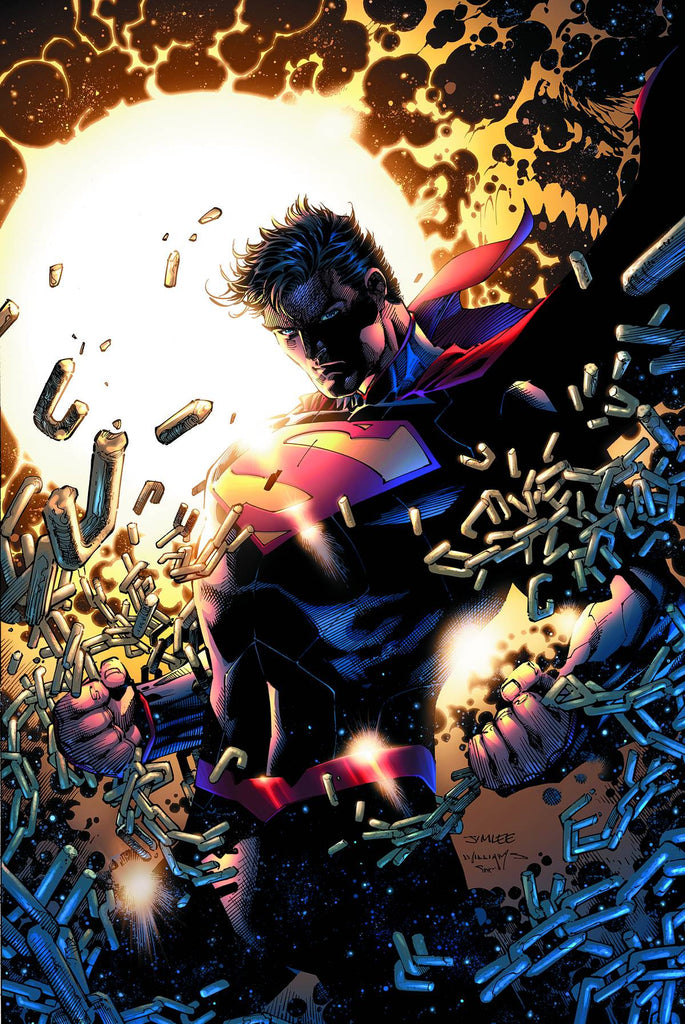 DC COMICS ESSENTIALS SUPERMANUNCHAINED #1 COVER