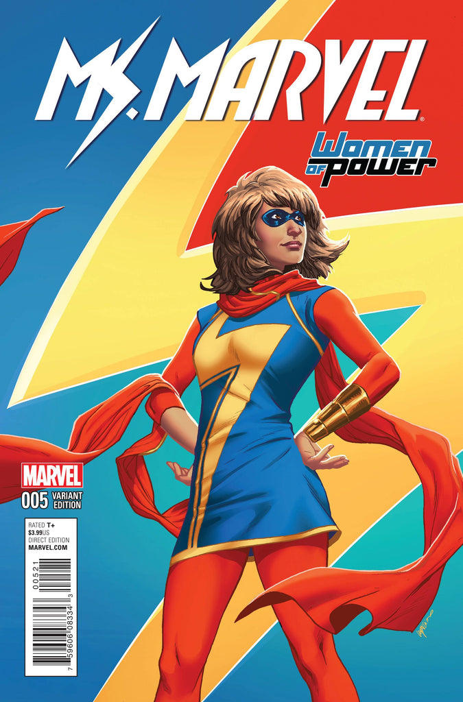 MS MARVEL #5 LUPACCHINO WOP VARIANT COVER