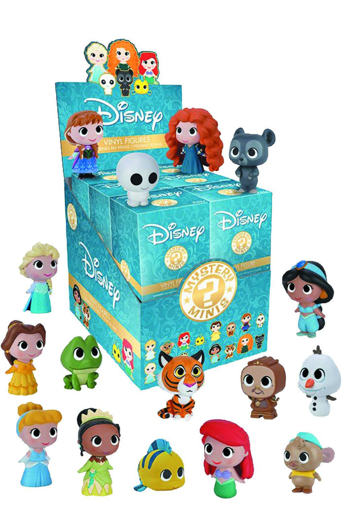 DISNEY PRINCESSES MYSTERY MINIS COVER