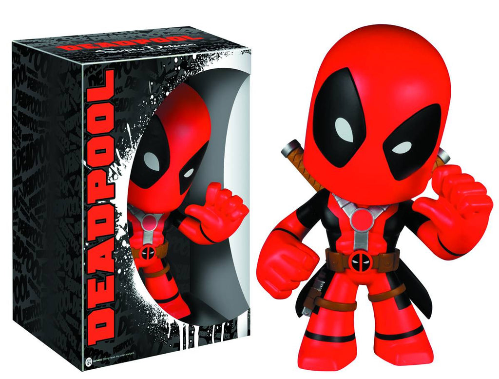SUPER DELUXE VINYL MARVEL DEADPOOL VINYL FIG