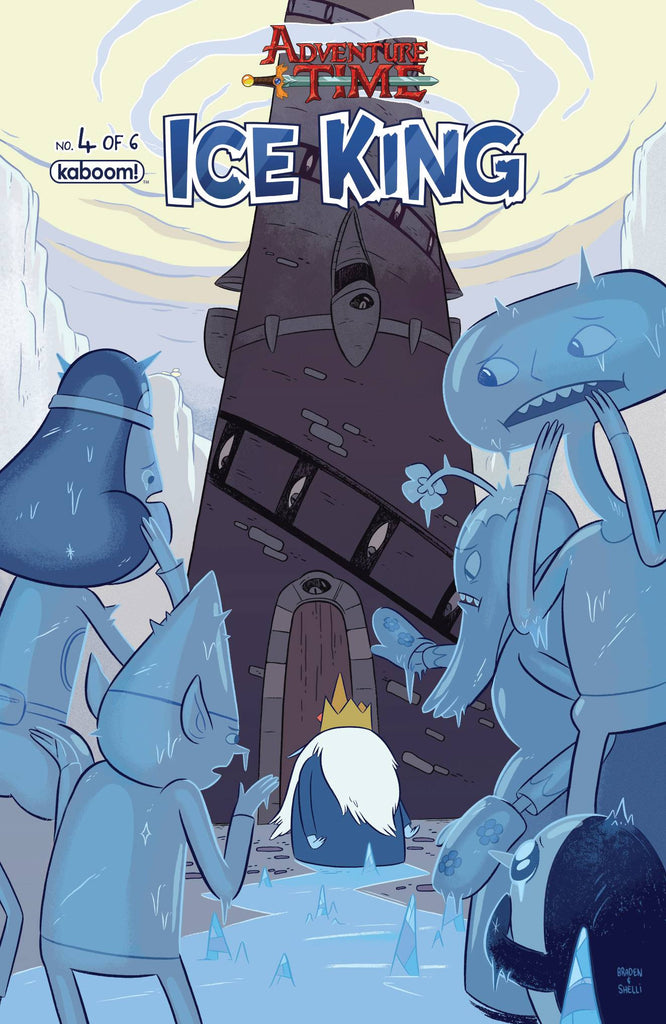 ADVENTURE TIME ICE KING #4 COVER