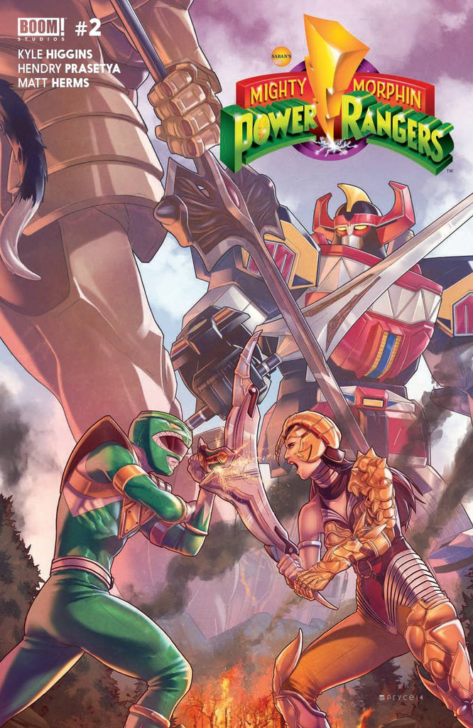 MIGHTY MORPHIN POWER RANGERS #2 MAIN CVR COVER