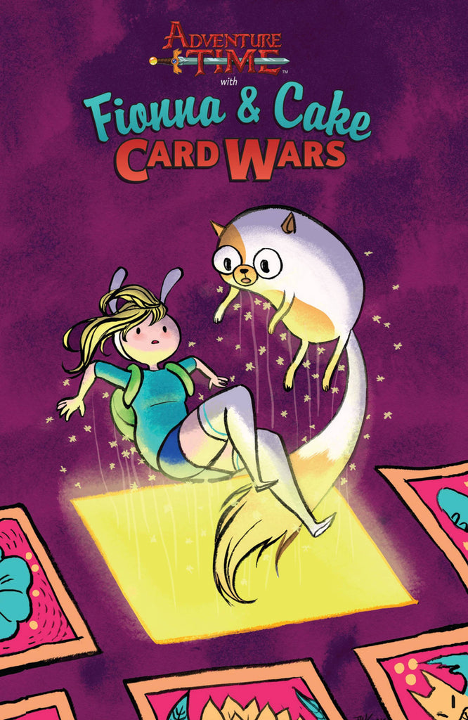 ADVENTURE TIME FIONNA CAKE CARD WARS TP COVER