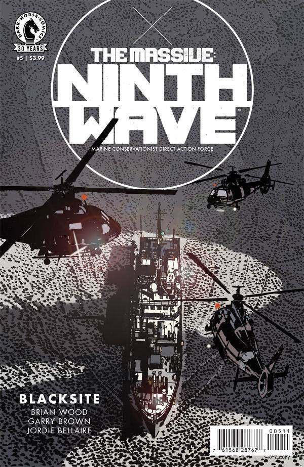 MASSIVE NINTH WAVE #5 COVER