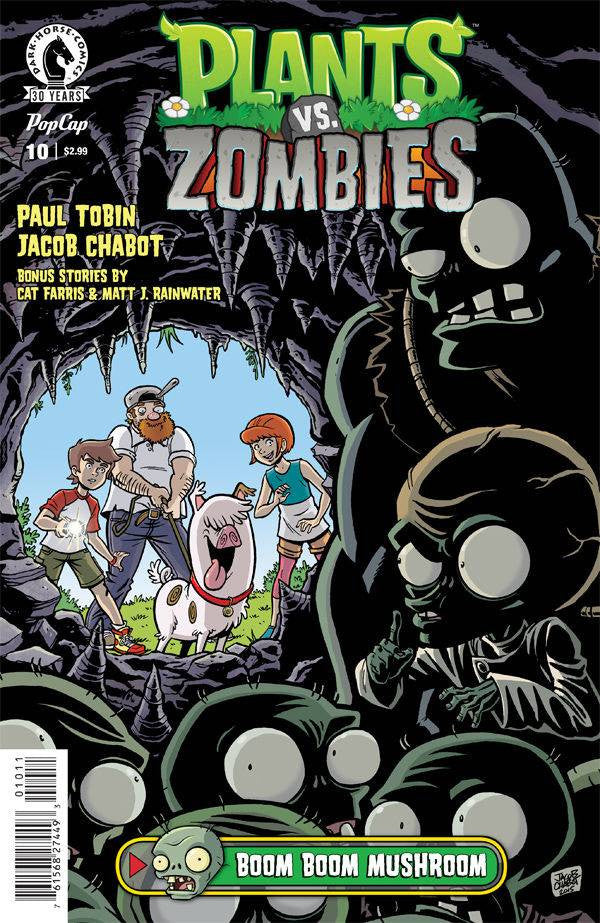PLANTS VS ZOMBIES ONGOING #10BOOM BOOM MUSHROOM PT 1 OF 3 ( COVER
