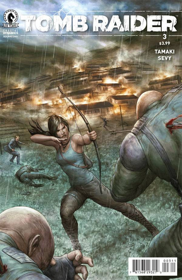 TOMB RAIDER 2016 #3 COVER