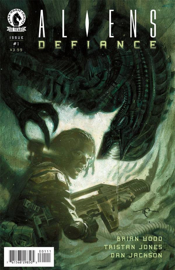 ALIENS DEFIANCE #1 COVER