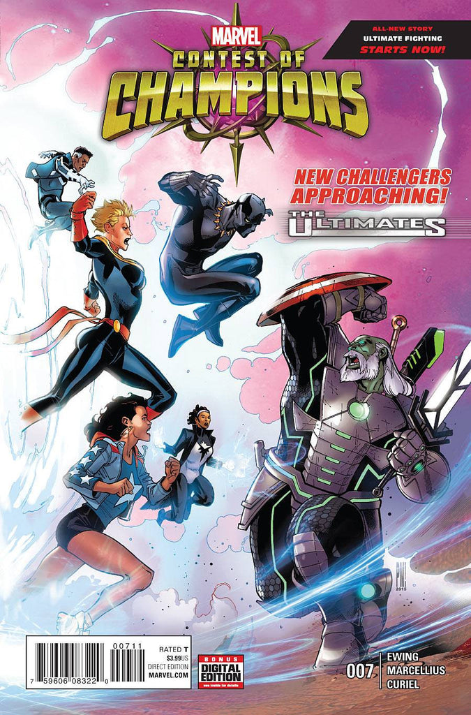 CONTEST OF CHAMPIONS #7 COVER