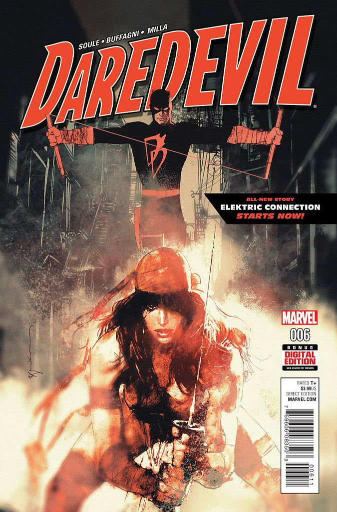 DAREDEVIL #6 COVER