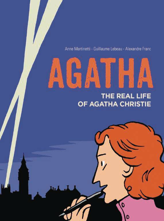 AGATHA REAL LIFE OF AGATHA CHRISTIE GN COVER