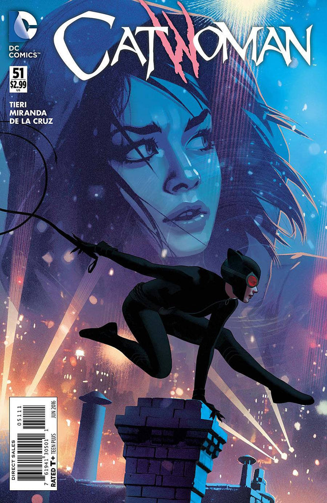 CATWOMAN #51 COVER